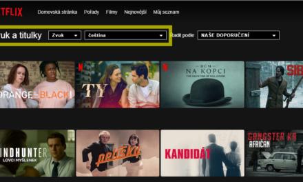 Jednoduchý trik, jak najít JEN filmy s českým dabingem na Netflixu