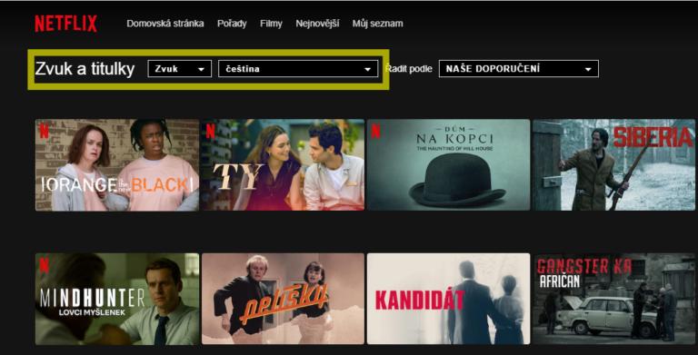 Jednoduchý trik – jak najít jen filmy s českým dabingem na Netflixu – 2021